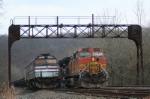 BNSF 4744 & OHCR 271